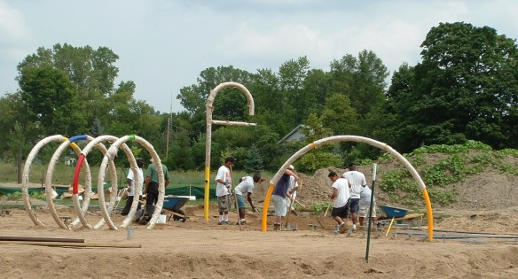 The beginnings of a Splash Pad! - 2006