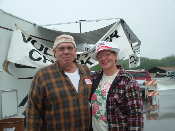 Two of our favorite volunteers - Playground 2004